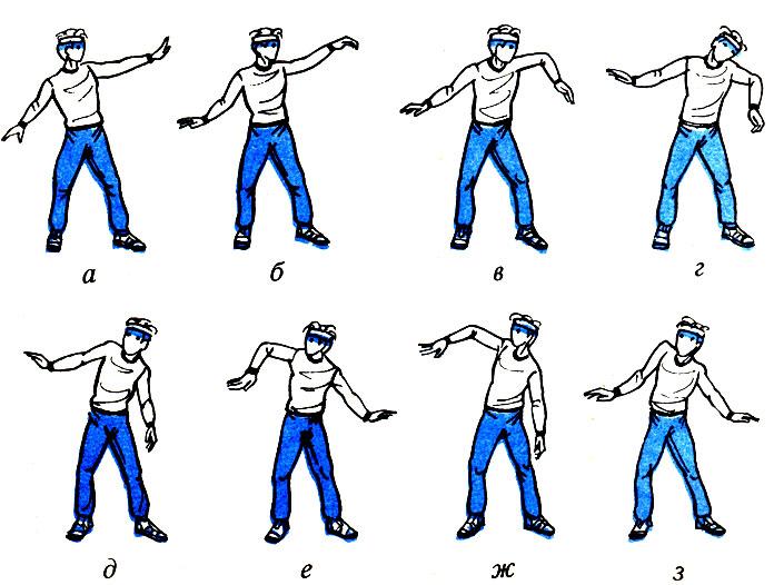 Как сделать танец из рук 237